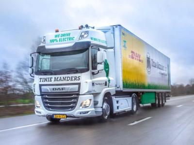 DAF запускає в продаж електровантажівки!