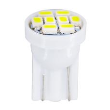 LED лампочка T10 W5W, 24В, 8 SMD 1206 LED, 0.48 Вт, 64 Lumens