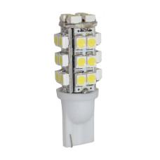 LED лампочка T10 W5W, 24В, 13 SMD 1210 LED, 0.48 Вт, 80 Lumens