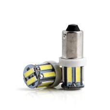 LED лампочка BA9S T4W, 24В, 7014 10 SMD LED