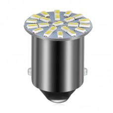 LED лампочка BA15S P21W, 24В, 0.72 Вт, 2406 22 SMD LED, 176 Lumens