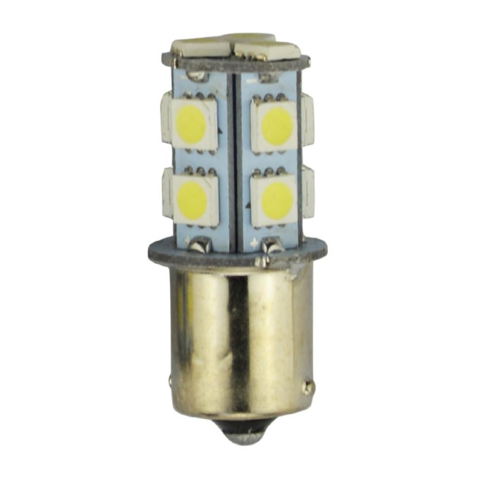 LED лампочка BA15S P21W, 24В, 5050 13 SMD LED, 156 Lumens