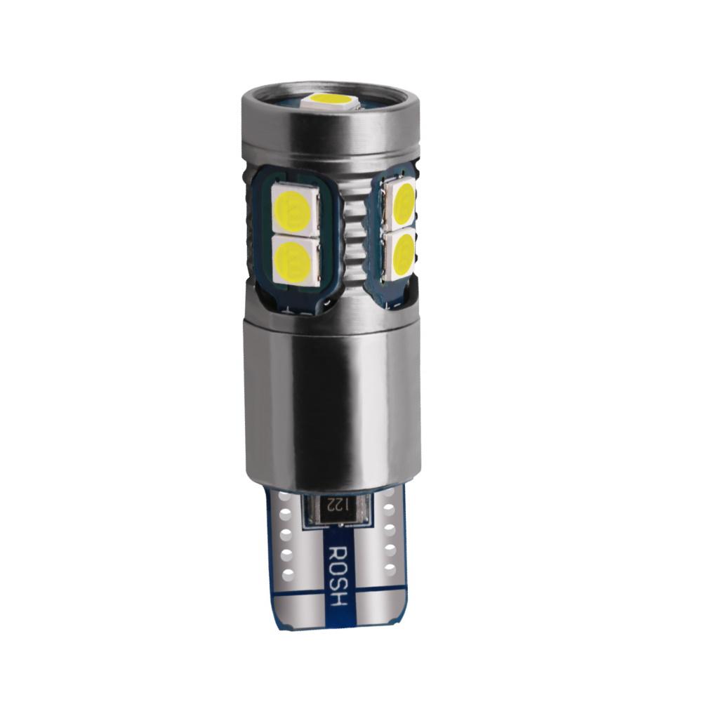 LED лампочка T10 W5W, 24В, 10 SMD 3030 LED, 2.64 Вт, 600 Lumens