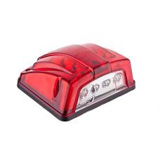 Підсвітка номера, LED, з додатковою функцією габариту, артикул: 201002-LED