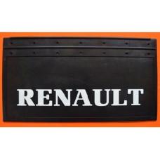 Бризговик з рельєфним написом Renault, 650х350 мм, артикул: 1001