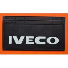 Бризговик з рельєфним написом Iveco, 650х350 мм, артикул: 1004