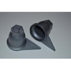 Пластиковий ковпачок на гайку 32 мм, для вантажного автомобіля